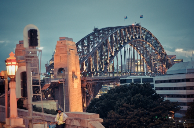 Harbour bridge - Sydney