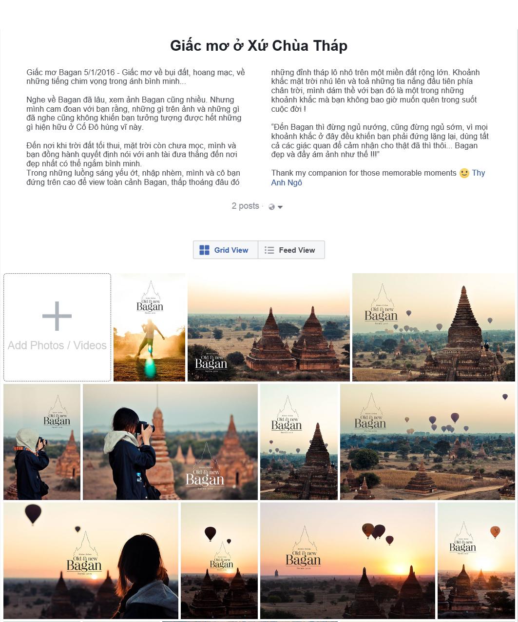 Cau chuyen Bagan